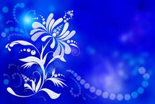 Free Background With Light Flower Stock Images - 8291994