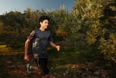 Free Young Runner Stock Photography - 8292112