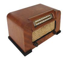Free Vintage Tube Radio Royalty Free Stock Photo - 8293155