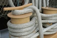 Free Mooring Lines Stock Photography - 8293432
