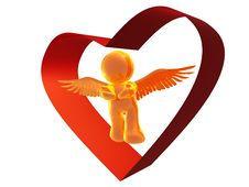 Free Angel Of Love Royalty Free Stock Images - 8293489
