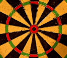 Free Dart Board Bulls Eye Royalty Free Stock Photo - 8293775