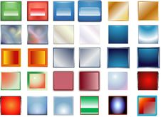 Free Color Buttons Royalty Free Stock Photos - 8293898
