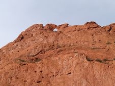 Free Garden Of The Gods—Kissing Camels Royalty Free Stock Photos - 8294018