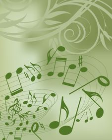 Free Music Background Royalty Free Stock Image - 8294206