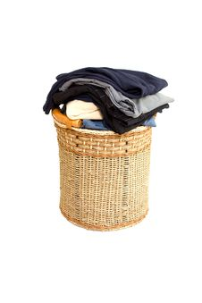 Free Basket With Laundry Stock Photo - 8294730