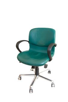 Office Green Chair Royalty Free Stock Photo