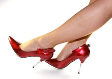Free Red High Heels Stock Photography - 8295432