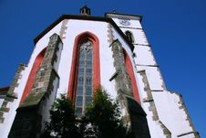 Free Church In Horažďovice 4 Royalty Free Stock Images - 8295909