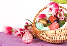 Free Easter Eggs Stock Photography - 8296132