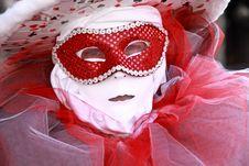 Venecian Carneval Mask Poker Stock Images