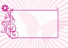 Free Floral Decorative Frame Stock Photography - 8296292