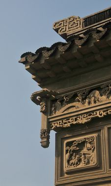 Free Ancient Chinese Door Royalty Free Stock Images - 8297569