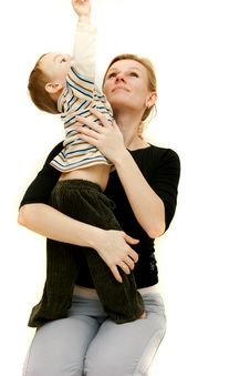 Free Mother And Son Stock Photos - 8297663
