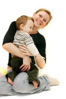 Free Mother And Son Stock Photography - 8297802