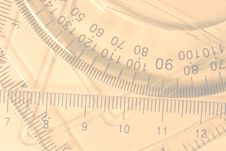Free Transparent Rulers And Protractors Stock Image - 8298121