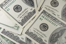 Free Pile Of One-hundred Dollar Bills Royalty Free Stock Photo - 8298185