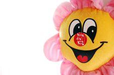 Free Flower Mascot Stock Image - 8298941