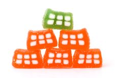Free Candy Domino From Jelly Royalty Free Stock Image - 8298986