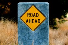 Good Fortune Road Ahead 1 Royalty Free Stock Image