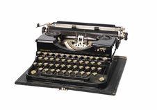 Free Vintage Typewriter Royalty Free Stock Photo - 8299135