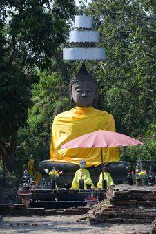 Free Thailand Wat Ku Kan Stock Image - 8299251