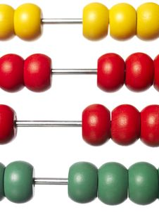 Free Colored Abacus Royalty Free Stock Photos - 8299268