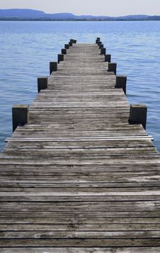 Free Wooden Jetty Stock Images - 8299294
