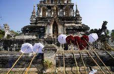 Free Thailand Wat Ku Kan Stock Photography - 8299342