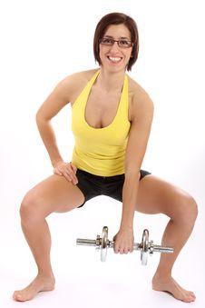 Free Fitness Woman Stock Photo - 8299360