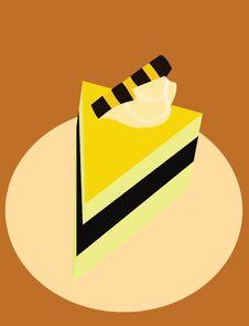 Free Piece Of Cake Royalty Free Stock Photos - 8299378