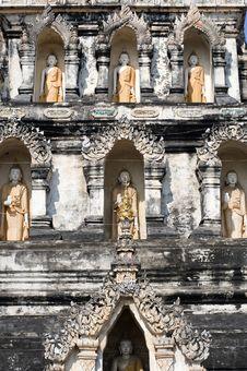 Thailand Wat Ku Kan Royalty Free Stock Photos