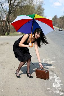 Free Hitch-hiking Stock Images - 8299504