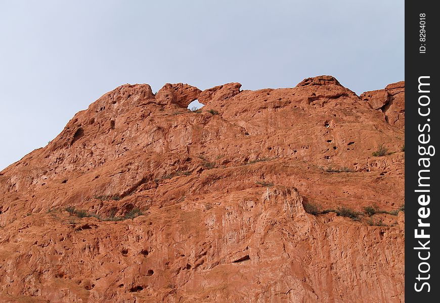 Garden Of The Gods Kissing Camels Free Stock Images