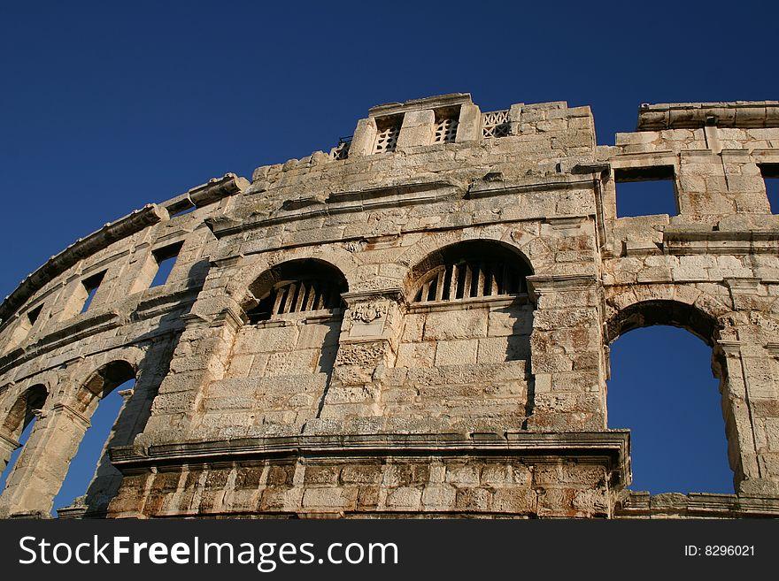 Amphitheater in Pula, Croatia 2