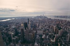 Free Aerial View Of Urban Skyline Stock Image - 82911841
