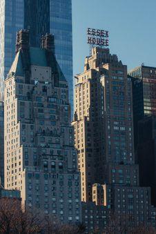 Free Modern City Skyline Royalty Free Stock Photo - 82911855