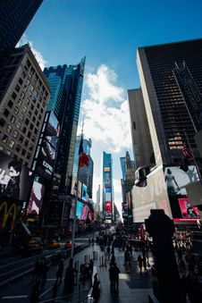 Free New York City Street Scene Stock Images - 82911904