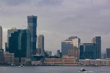 Free Modern City Skyline Royalty Free Stock Photo - 82911915