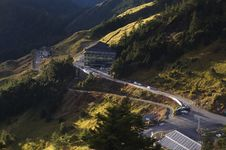 Free Winding Road On Mountainside Royalty Free Stock Photo - 82911975