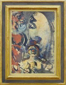 Free &x22;Parade &x28;détail&x29;&x22;, Georges Rouault, Vers 1907-1910. Centre Pompidou, Paris. Stock Image - 82912151