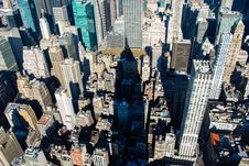 Free Rooftops Over Manhattan, New York Royalty Free Stock Photo - 82912245