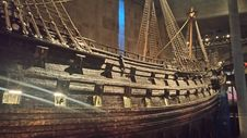 Free Hull Of Wooden Ship In Museum Royalty Free Stock Images - 82912829