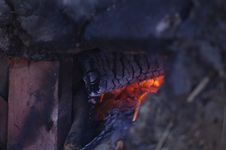 Free Close Up Of Wood Fire Royalty Free Stock Photography - 82913357