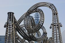 Free Roller Coaster Track Stock Photos - 82930993