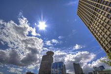 Free Low Angle Photography Of Skyscrapers Under White And Gray Cloudy Blue Sky At Daytime Royalty Free Stock Photo - 82931745
