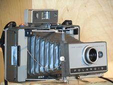 Free Polaroid Gray Folding Camera Stock Image - 82932051