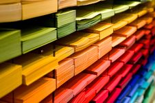 Free Multi Colored Folders Piled Up Royalty Free Stock Photography - 82932137
