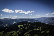 Free Aerial Landscape Of Green Hillside Stock Images - 82933654