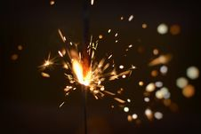Free Sparks Of Firecracker Royalty Free Stock Photography - 82933687